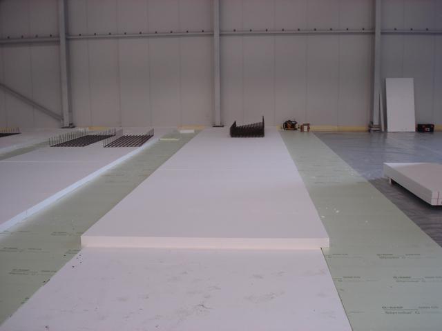 Isolteam isoleren van vloer met XPS EPS