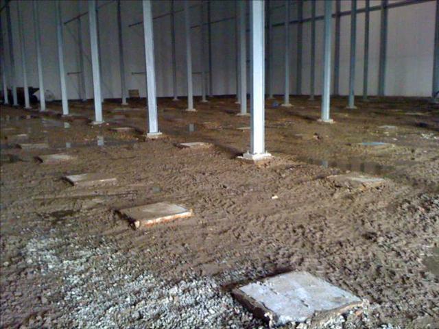 Isolteam isoleren van vloer met EPS