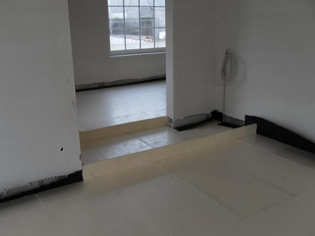 Isolteam isoleren van vloer met xps