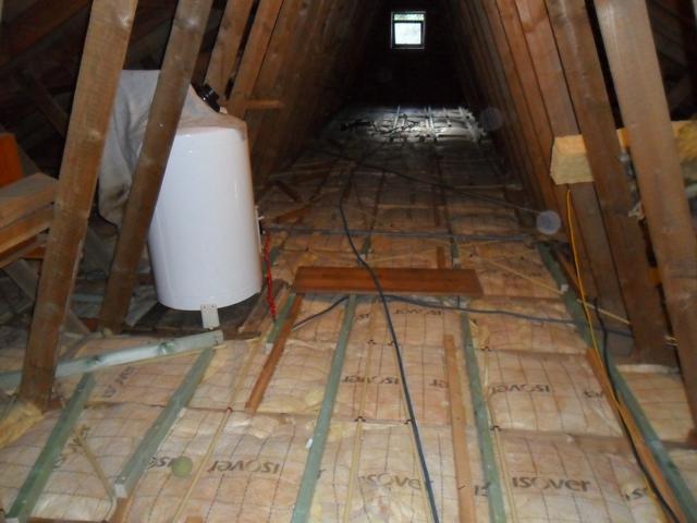 Isolteam isoleren dak zoldervloer glaswol isover isoconfort vloer osb