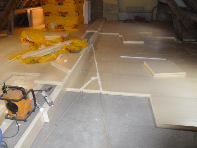 Isolteam isoleren dak zoldervloer XPS URSA n3l