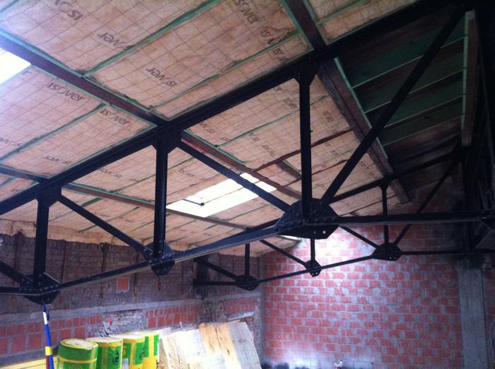 Isoleren dak met glaswol
