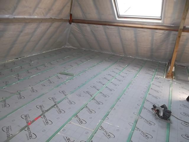isolteam isoleren dak zoldervloer pur pir recticel eurofloor vloer osb