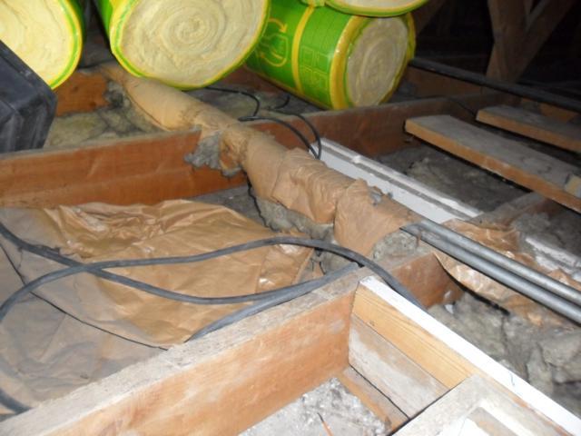 isolteam isoleren dak zoldervloer glaswol isover isoconfort