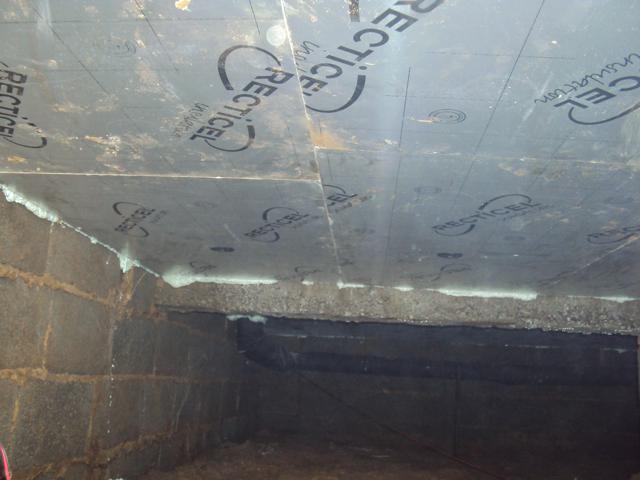 isolteam isoleren plafond kelder recticel eurowall