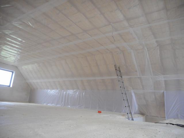 isolteam isoleren dak glaswol isover isoconfort dampscherm b1
