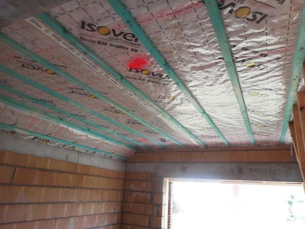 Isolteam: dak isoleren met houtwol en dampscherm
