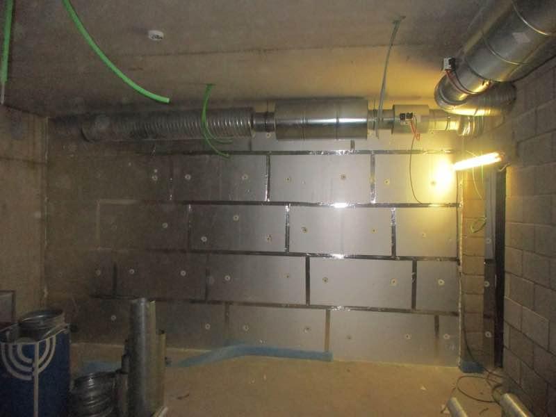 Binnenmuur isoleren met PUR-PIR Unilin Utherm wall