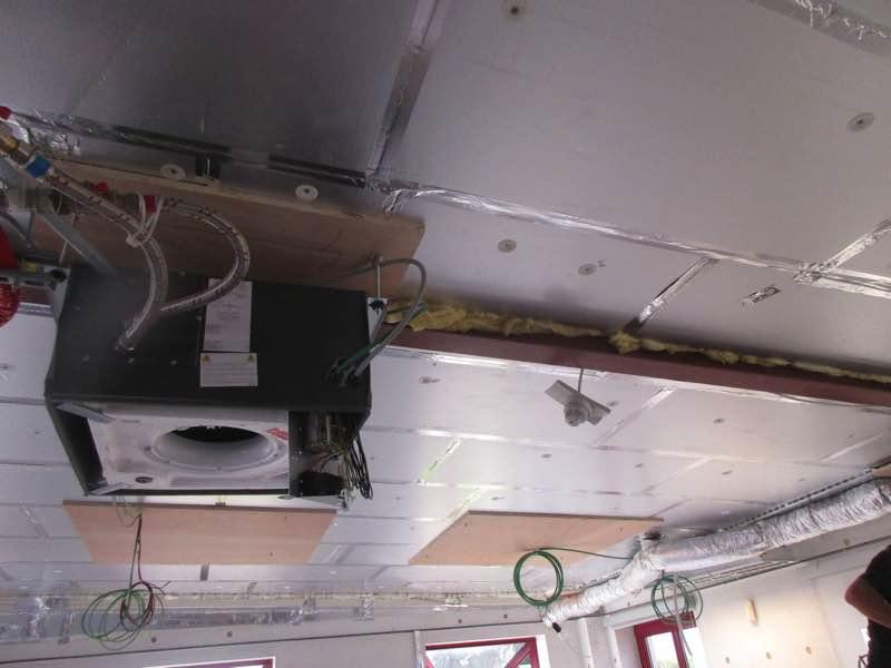 Plafond isoleren met PUR-PIR Unulin Utherm Wall