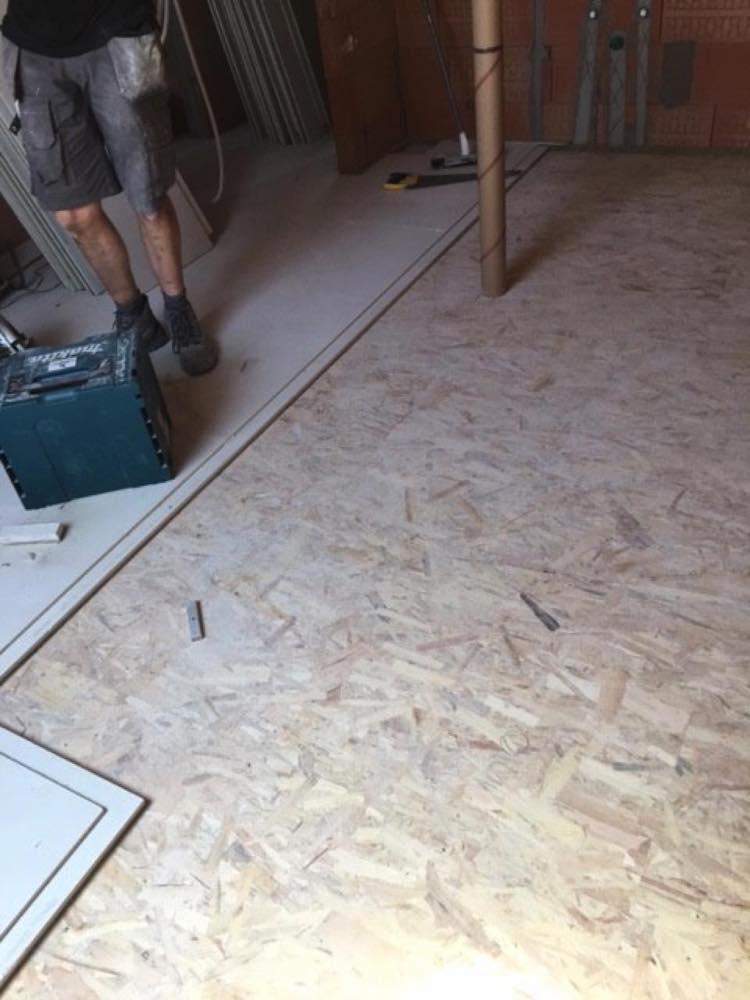 Zoldervloerisolatie met rotswol vloerplaten