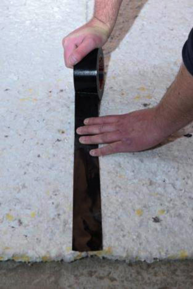 Akoestische isolatie dekvloer tegen contactgeluid