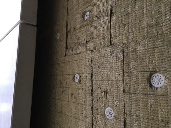 Gevelisolatie appartement met minerale wol