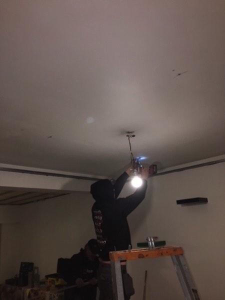 Plafondisolatie akoestiek in een woning door Isolteam