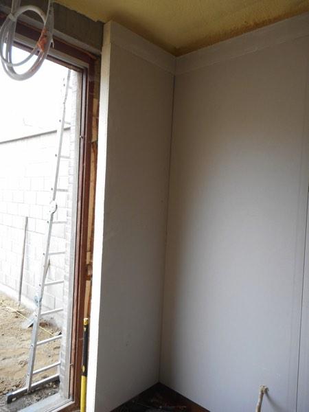 Binnenmuurisolatie van een appartement met PUR-PIR door Isolteam