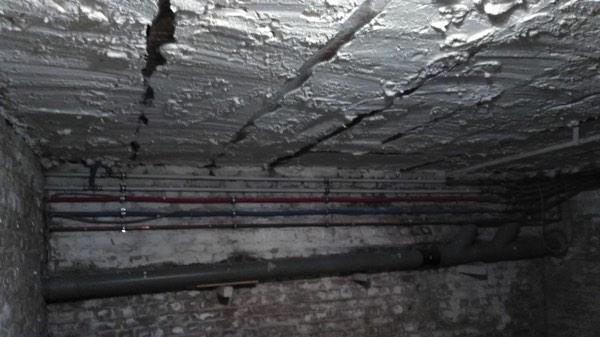 Plafondisolatie en kelderisolatie met icynene door Isolteam