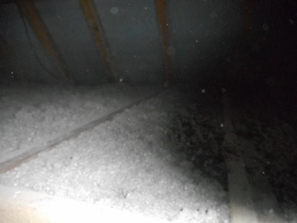 Zoldervloerisolatie in een woning met cellulose door Isolteam