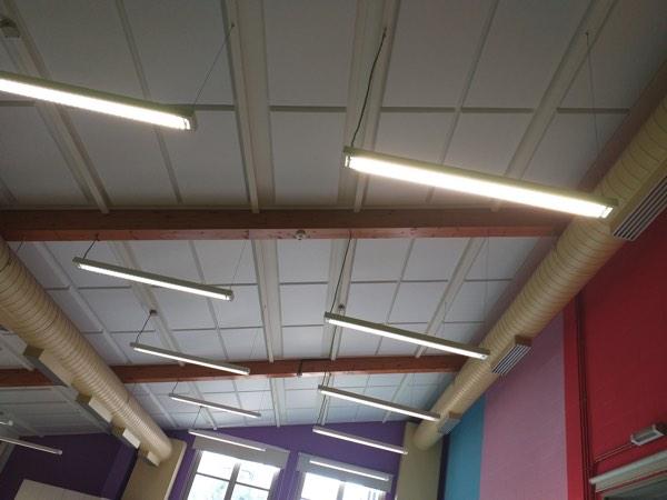 Plafondisolatie akoestiek met polyesterwol door Isolteam