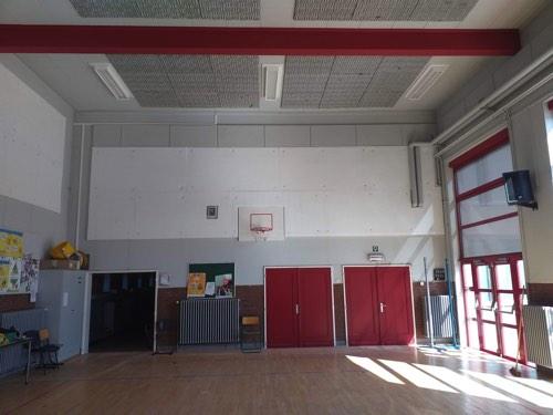 akoestische isolatie school