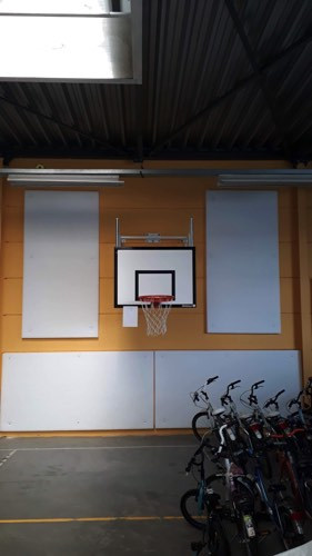 akoestische isolatie sportzaal
