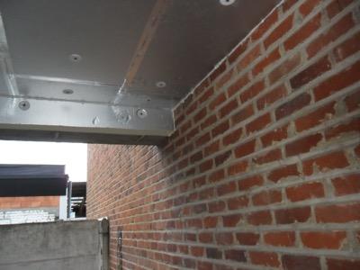 appartement plafondisolatie